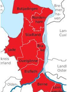 Karte UB Wesermarsch