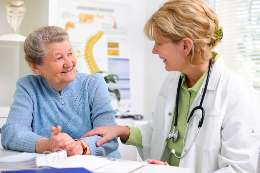 Arzt-Gespräch