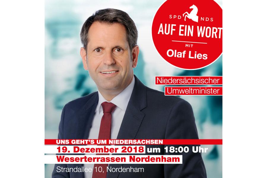 Olaf Lies in Nordenham