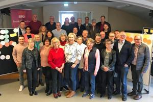 TeilnehmerInnen des Workshops der SPD Wesermarsch am 9. Februar in den Räumen der KVHS in Brake