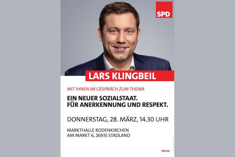 Veranstaltung mit Lars Klingbeil