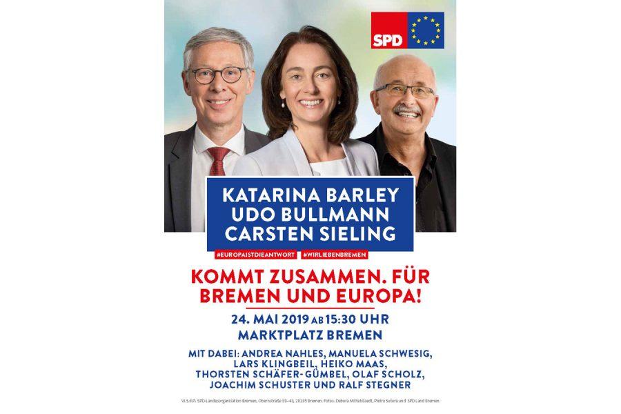 Europaveranstaltung in Bremen
