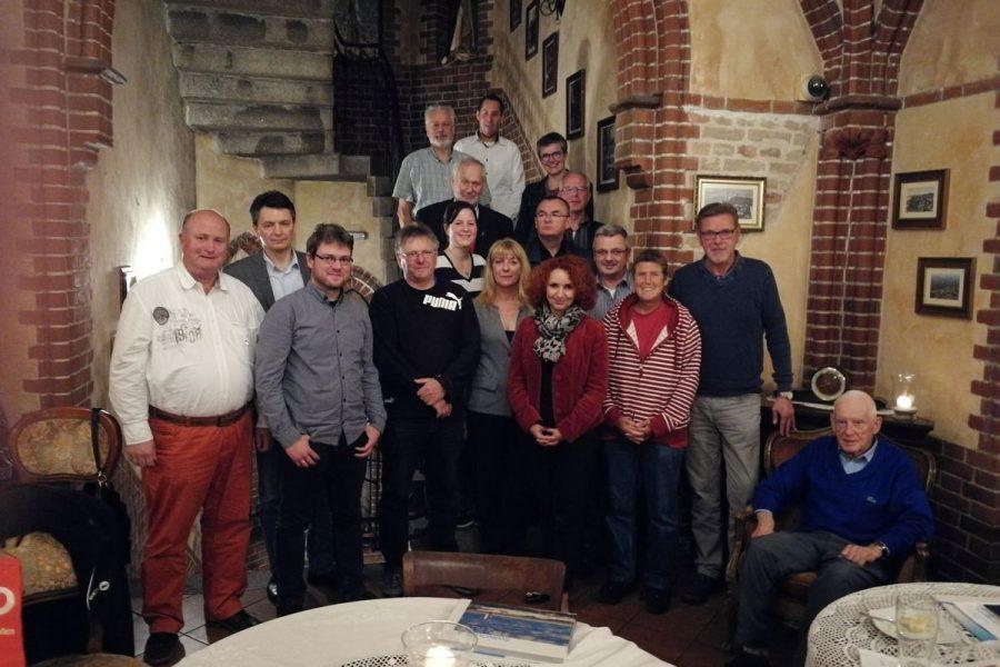 Vertreter der SPD Nordenham treffen Mitglieder der polnischen Schwestepartei