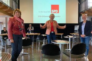 Susanne Mittag, Karin Logemann und Christina Winkelmann