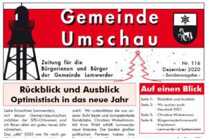 Kopf der Gemeinde-Umschau