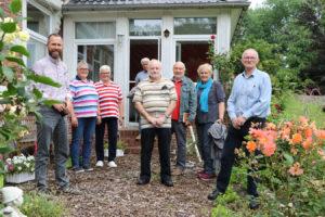 Besucher bei Familie Heidemann
