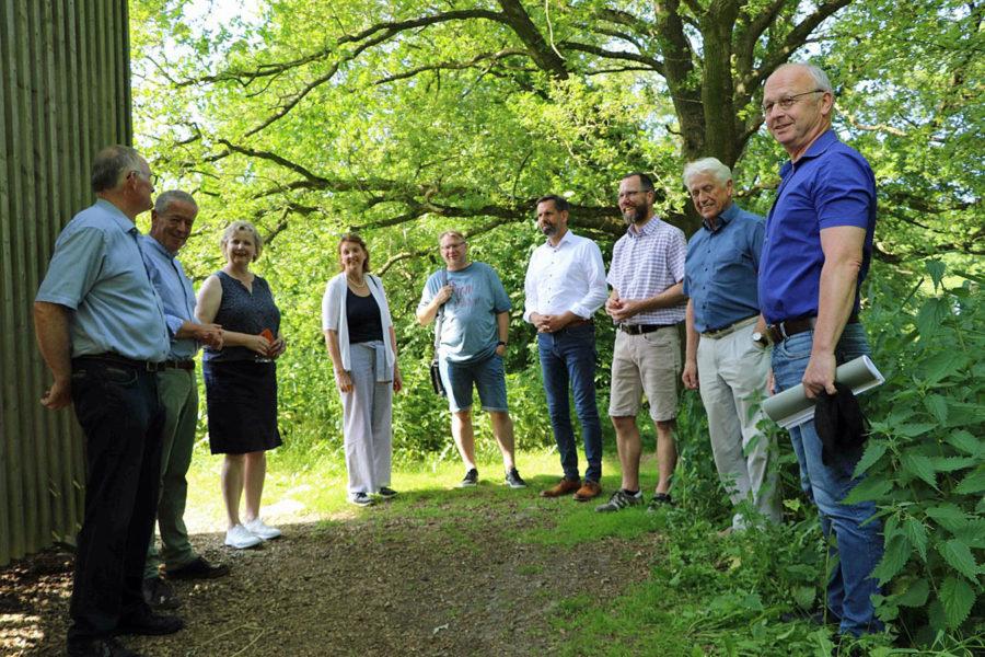 Bild von der Besuchergruppe